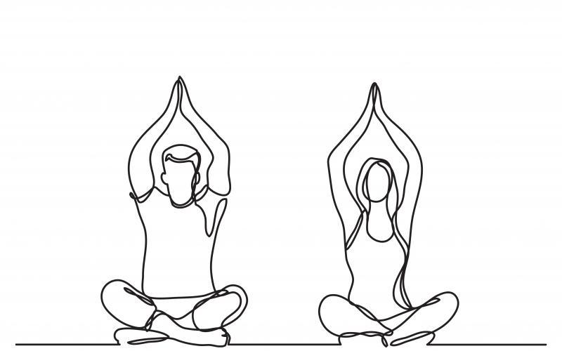 Yoga i ungdomsskolen
